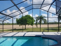 Gable Roof Pool Enclosure Lehigh Acres Florida Lee County