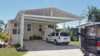 Aluminum Carport Mobile Home North Fort Myers Florida Lee County