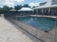 Swimming Pool Fence Baby Barrier Fence Protective Pool Fence Screen Fence Aluminum Pool Safety Fence SouthWest Florida