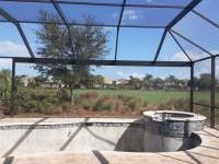 "alt=""Swimming Pool Enclosure Picture Window Screen Cape Coral Florida"""