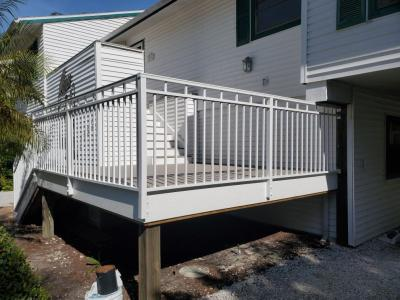 Aluminum Staircase Railings by DreamWork Aluminum